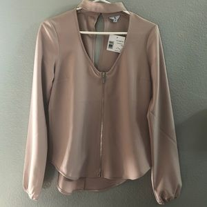 G BY GUESS | Pink long sleeve blouse